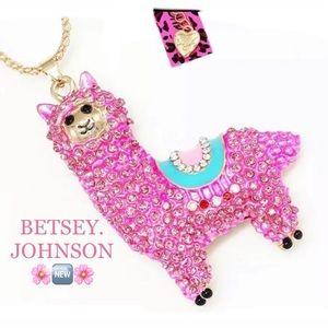 Betsey Johnson Alpaca Necklace 🌿🆕🌿